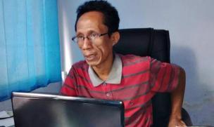 Abdul Haris, Kepala Bidang Hubungan Industrial dan Pengawasan Ketenagkerjaan Dinsosnakertrans. Foto: Bin