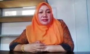 Ketua KPU Kabupaten Bima Siti Nursusila S.Ip, M.MIp. Foto: Bin