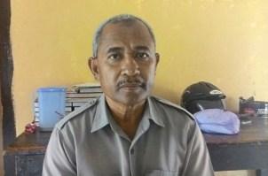 Kasat Narkoba Polres Bima Kota IPTU. Jusnaidin. Foto: Noval