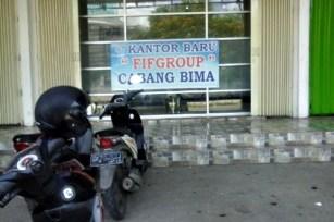 Kantor PT FIF Cabang Bima. Foto: Bin