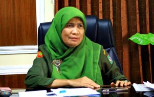 Kepala Diskanlut Kota Bima, Hj. Siti Zainab. Foto: Deno