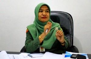 Kepala Dinas Dukcapil Kota Bima, Mariamah. Foto: Deno