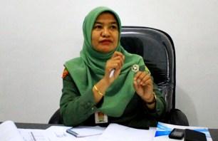 Kepala Dinas Dukcapil Kota Bima, Maryamah. Foto: Deno