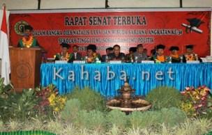 Wisuda STISIP Mbojo Bima. Foto: Deno