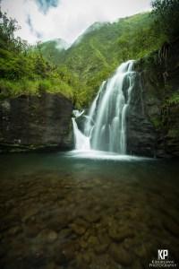 Stunning Kauai Waterfall in the mountains