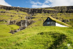 The incredible outside your door. This feature is a regular at most towns throughout the Faroe Islands