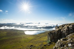 The clearest conditions of the year graced us while we hiked to the top of Slaettaratindur in the Faroe Islands
