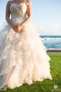 Sunset wedding at the Beach house Restaurant in Kauai's south shore