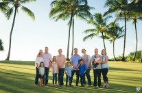 Hanalei Bay Family Portraits