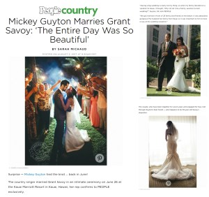 High end wedding photography by Kahahawai Photography / People Magazine