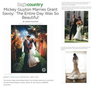 High end wedding photography by Kahahawai Photography / People Magazine
