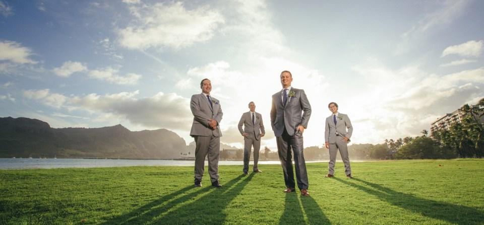 Amazing lighting for a Kauai Wedding at the Kauai Marriott!
