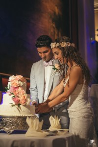 An incredible cake cutting Ceremony at the Kauai Marriott