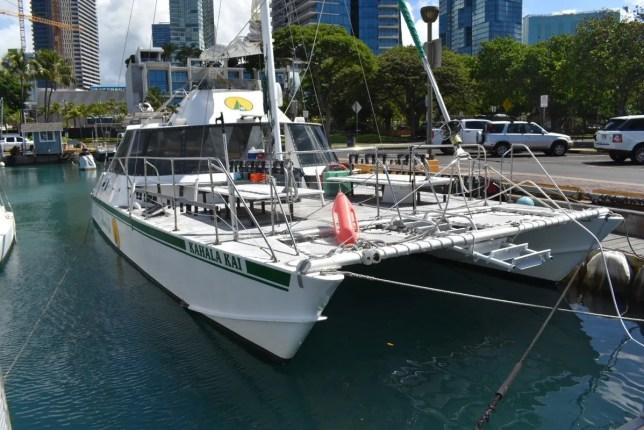 Waikiki catamaran charter