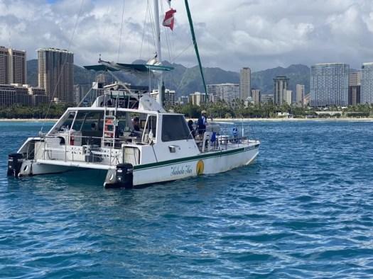 Waikiki Catamaran Charters Private Rental