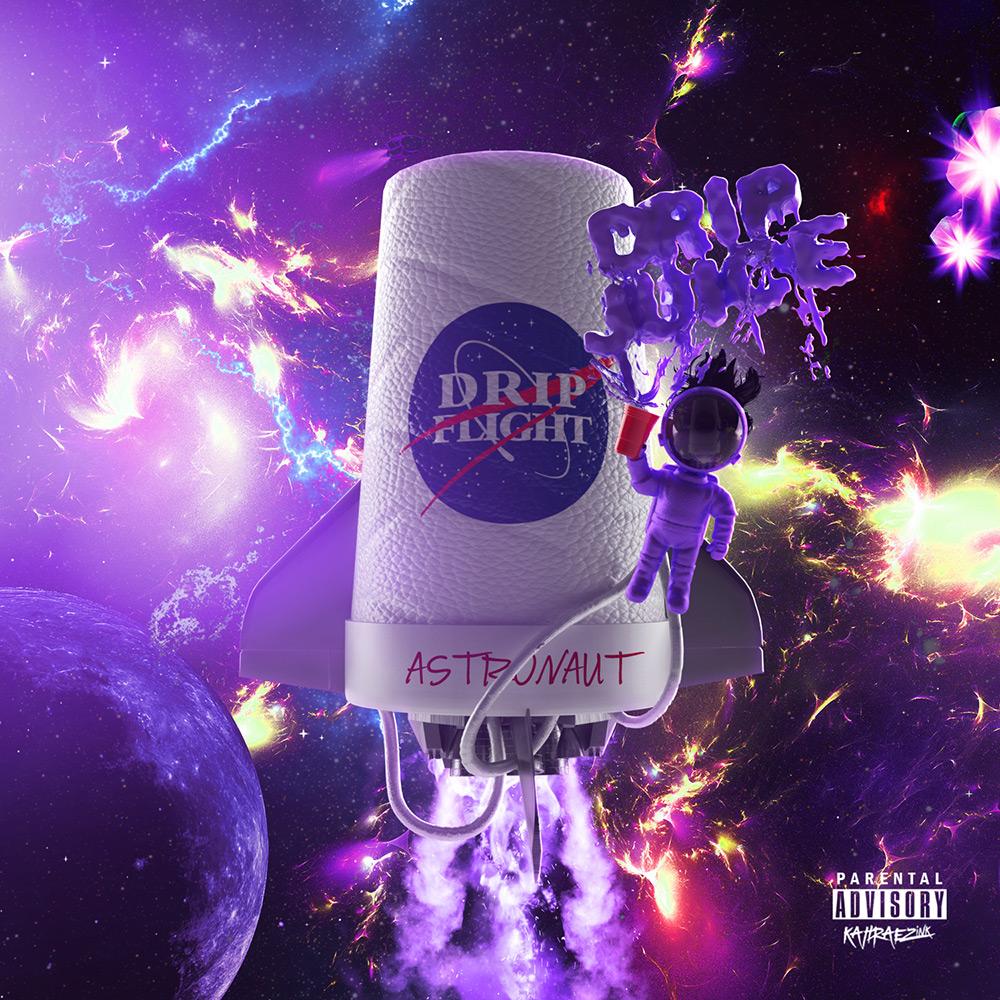 drip_flight_hiphop_rap_single_cover_designed_by_kahraezink