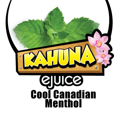 Kahuna Cool Canadian Menthol ejuice