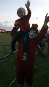 ...the Stunt Clown. After watching Scott May's Daredevil Stunt Show