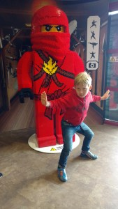at Legoland, Windsor