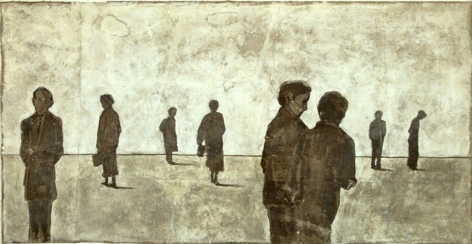 2013-Nebelkerzen-110-x-210-cm-Mischtechnik-auf-Papier