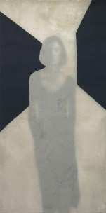 2007-Gebrochener-Flügel-100-x-200-cm-Acryl,-Tusche,-Leinwand,-Folie