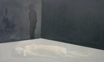2007-Traumdeutung--200-x-120-cm-Tusche,-Acryl,-Leinwand,-Folie