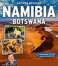 Plakat Namibia & Botswana
