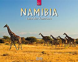 Kalender: Namibia 2019 im Verlagshaus Würzburg