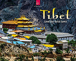 Kalender: Tibet 2019 im Verlagshaus Würzburg