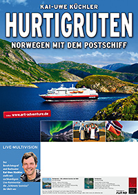 Hurtigruten. Norwegen mit dem Postschiff