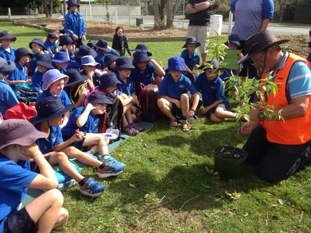 Kaiapoi's largest classroom