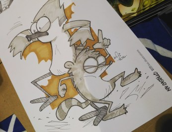 Mordecai & Rigby (Regular Show) Commission at APCC