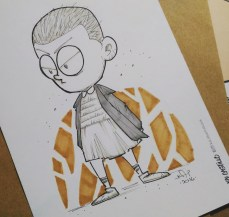 Eleven (Stranger Things) Commission at APCC