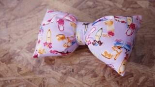 コスプレ衣装製作⑭♪縫わずに作るふんわりリボン♪