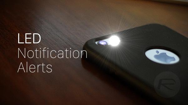 كيفية تفعيل فلاش الآيفون كإشعار للتنبيهات LED Flash for Alerts