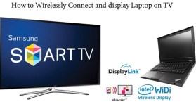 كيفية عرض شاشة الكمبيوتر على التلفزيون بالوايرلس بدون وصلة