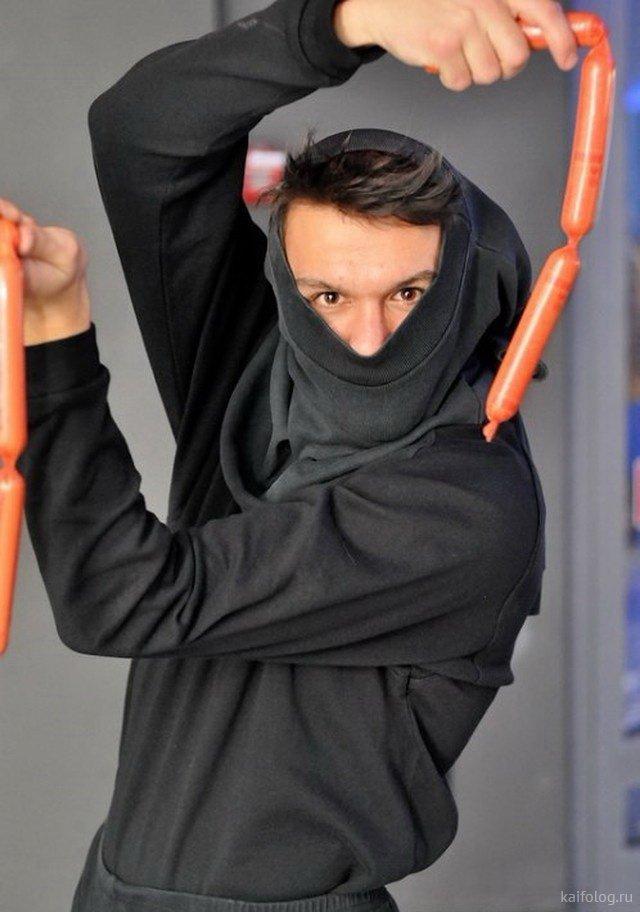 Приколы про ниндзя (45 фото)