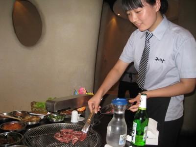 北京_五道口の韓国焼肉屋さんにて_2009年