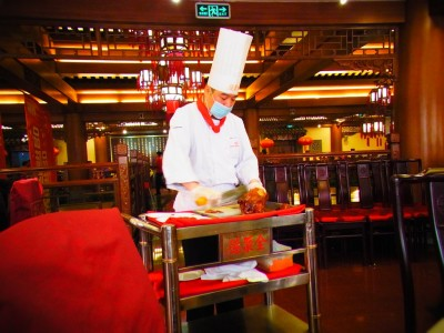 中国北京の食事といったら北京ダック