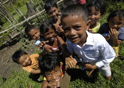 インドネシアの子供