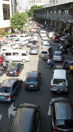 フィリピン到着、フィリピンの街中