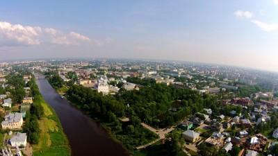 ロシアの四季、暑くて短い夏