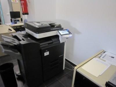 スペインでの仕事とキャリア、コピー機