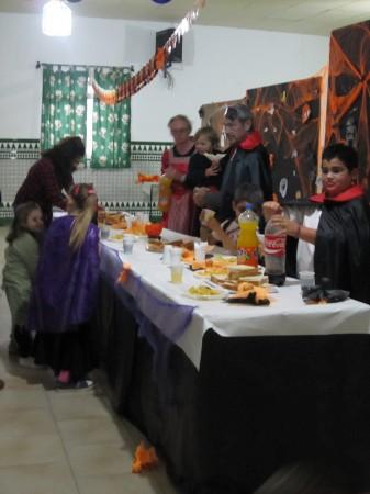 スペインのハローウィンイベントの様子