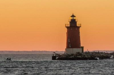 灯台、船旅