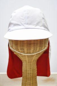 赤白帽たれ付き