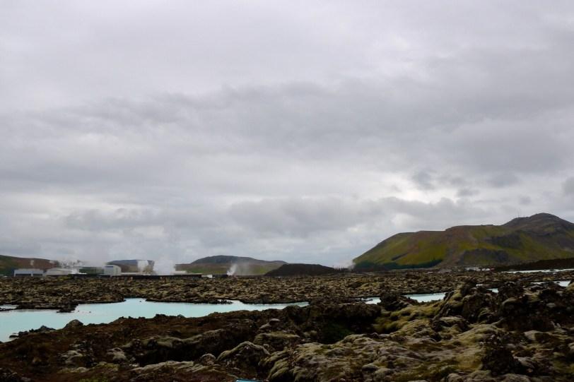 Svartsengi Geothermal Plant at Blue Lagoon, Iceland
