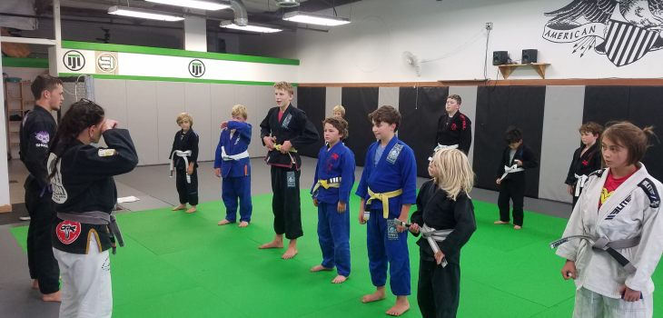 Kaijin Kids Jiu-Jitsu Class in Scotts Valley