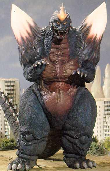 Image result for SpaceGodzilla