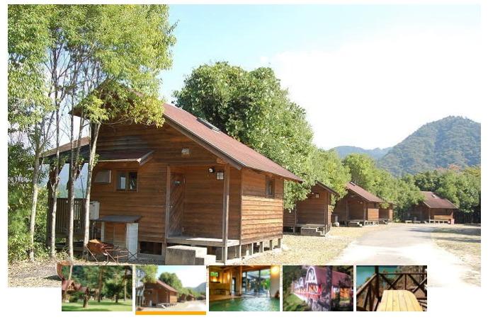 『きなりの郷』下北山スポーツ公園キャンプ場の風景